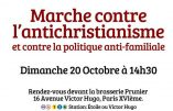 La marche du 20 octobre contre l'antichristianisme en direct