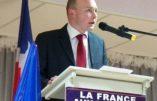 Thomas Joly, secrétaire général du Parti de la France, a passé six heures en garde à vue pour avoir dénoncé la barbarie islamiste