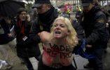 Les Femen encore à l'oeuvre en Espagne !