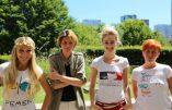 La Femen Inna Schevchenko hébergée officiellement chez Caroline Fourest