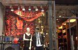 Une boutique Diesel à Paris victime de l'obsession de la quenelle…