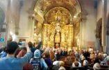 Espagne – Trois activistes pro-avortement arrêtés pour profanation d'office religieux