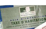 Impôts locaux – refonte de la taxe d'habitation à l'étude.