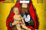 Les affiches blasphématoires et antichrétiennes du film «Au nom du Fils»