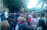 Manifestation devant l'ambassade du Soudan pour exiger la libération de la chrétienne Meriam