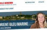 Joëlle Bergeron, candidate FN favorable au droit de vote des étrangers !