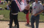 «Hollande Démission» au Champs de Mars ce 14 juillet après-midi