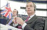 «Avec l'Union européenne, voter ne sert plus à rien» (Nigel Farage)