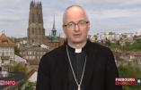 Le caméléon Mgr Charles Morerod élu président de la conférence épiscopale suisse