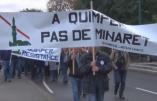 Vidéo – Quimper: Forte mobilisation contre les minarets de la communauté turque