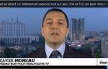 Xavier Moreau en direct sur France 24: l'UE, une création des USA !