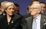 Jean-Marie Le Pen à propos d'une «refondation du Front National»