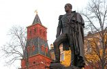 Quand l'Histoire enseigne l'actualité: Poutine a inauguré un monument au tsar Alexandre 1er, au Kremlin (Vidéo)
