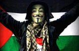 Vaste opération antisioniste sur internet menée au nom d'Anonymous