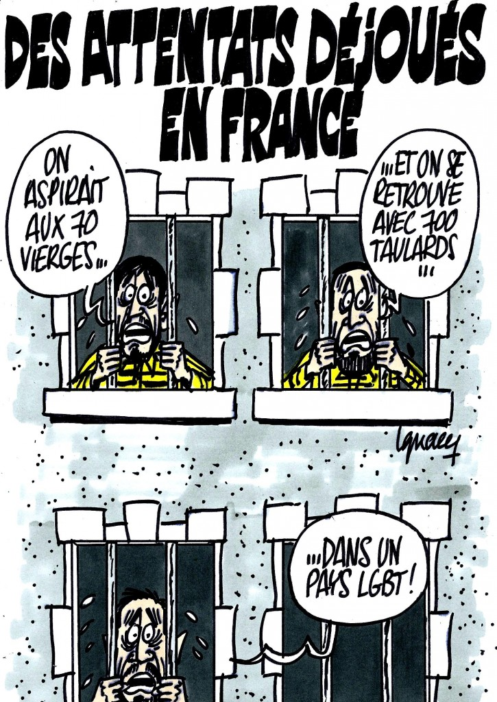 Ignace - Attentats déjoués en France
