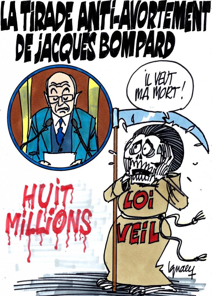 Ignace - La tirade anti-avortement de Jacques Bompard