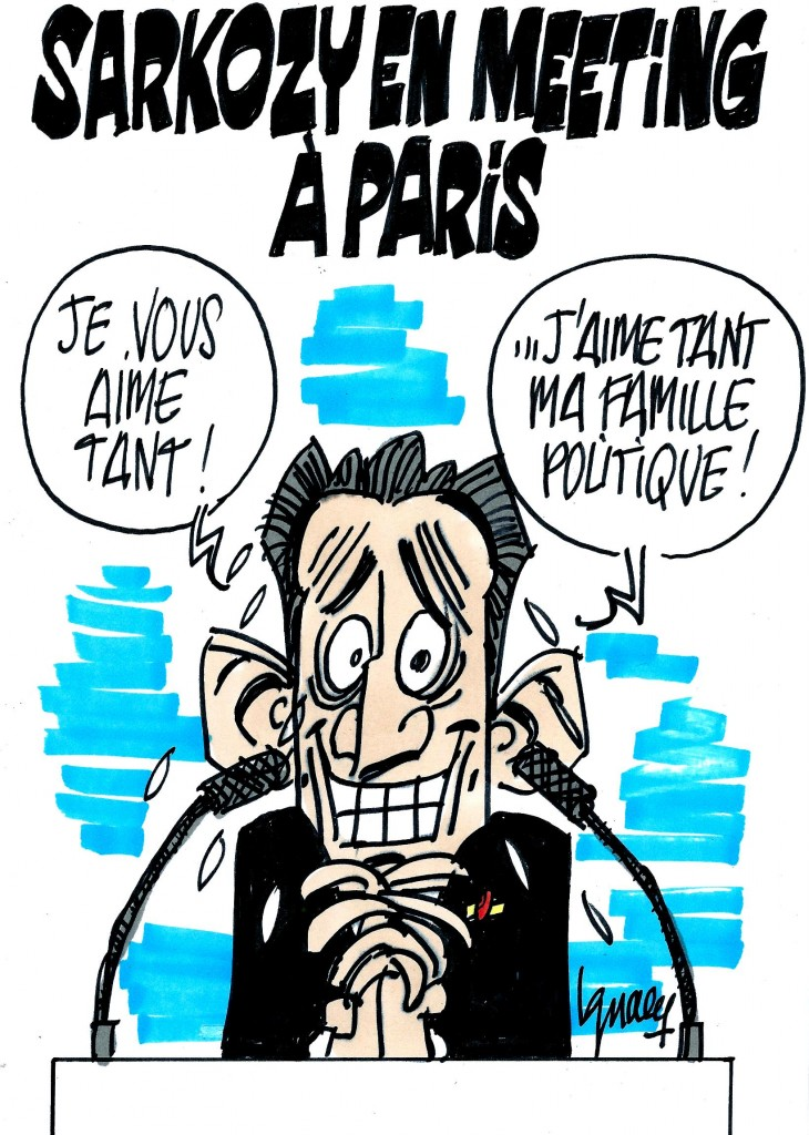 Ignace - Grand meeting de Sarkozy