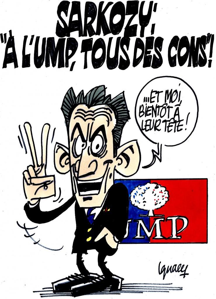 """Ignace - """"À l'UMP, tous des cons"""" !"""