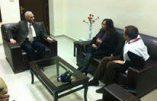 SOS Chrétiens d'Orient reçu à Damas