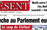 «Le coup de Civitas»  par Présent: une crèche bénie par Mgr Fellay au Conseil de l'Europe