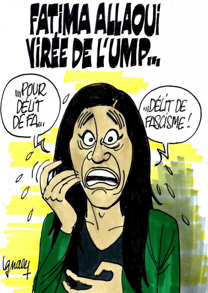 Ignace - Fatima Allaoui virée pour délit de fa...