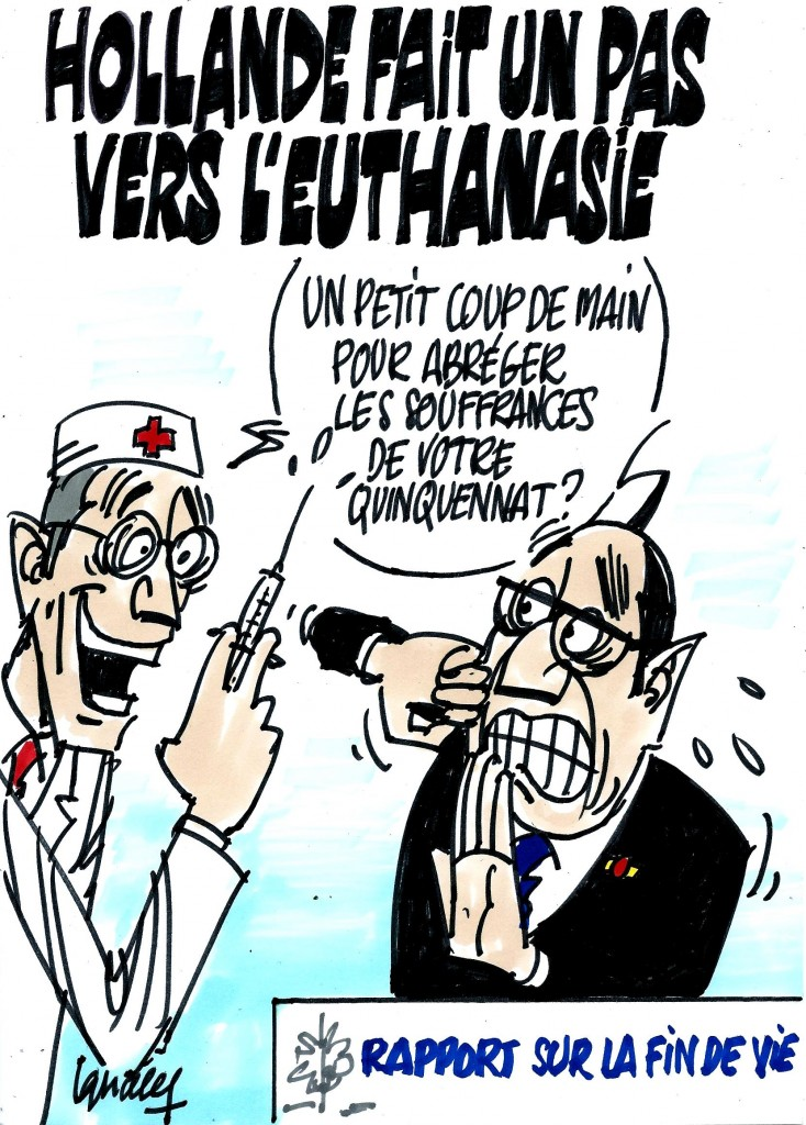 Ignace - Hollande fait un pas vers l'euthanasie