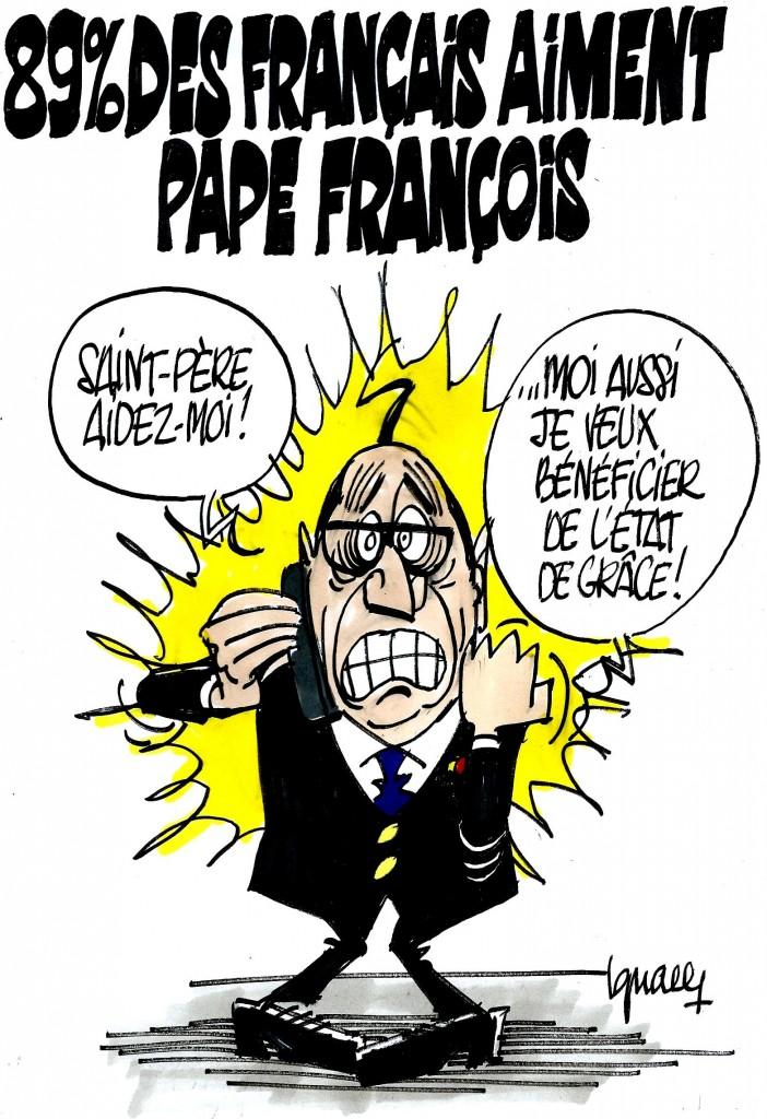 Ignace - Les Français aiment pape François