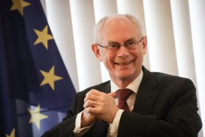 EC President van Rompuy presents book