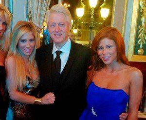 Bill Clinton, grand consommateur de jeunes femmes, ...