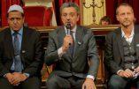 Le Grand Orient adoube Hassen Chalghoumi, président de la Conférence des imams de France