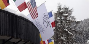 Davos Prepares For The World Economic Forum Annual Meeting 2012
