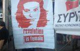 Marine Le Pen souhaite la victoire de Syriza, parti grec d'extrême gauche