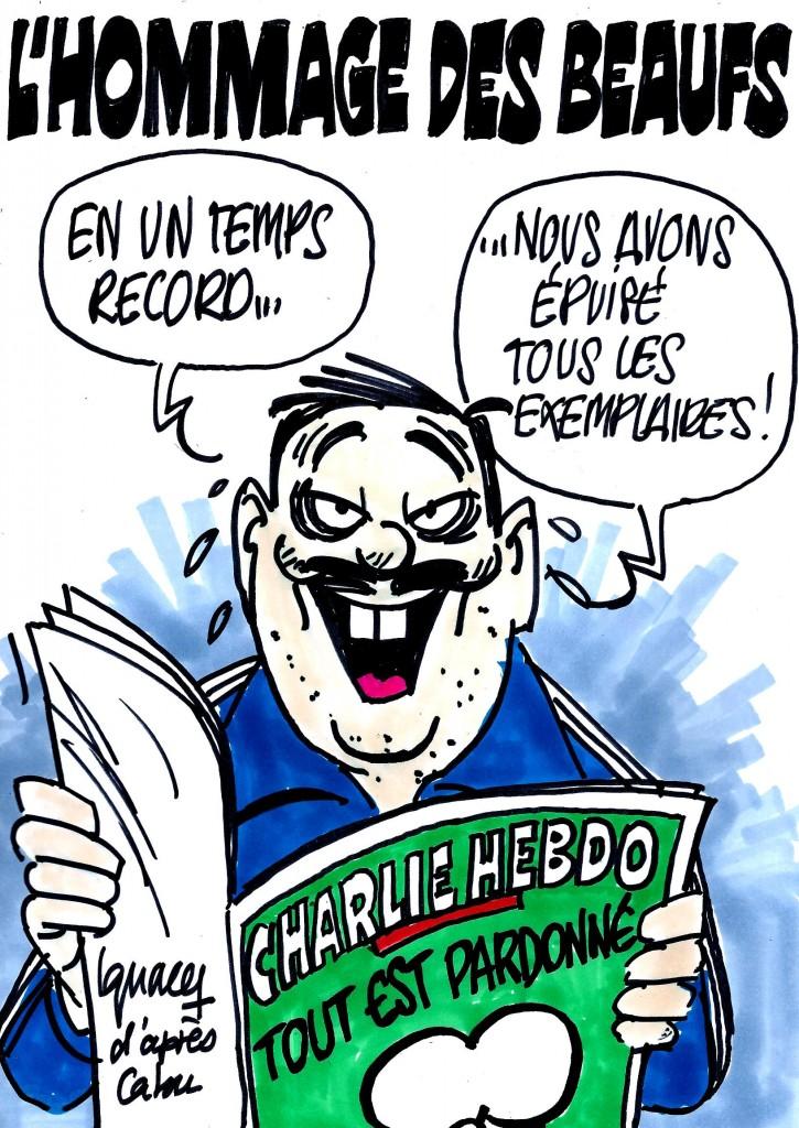 Ignace - L'hommage des beaufs à Charlie