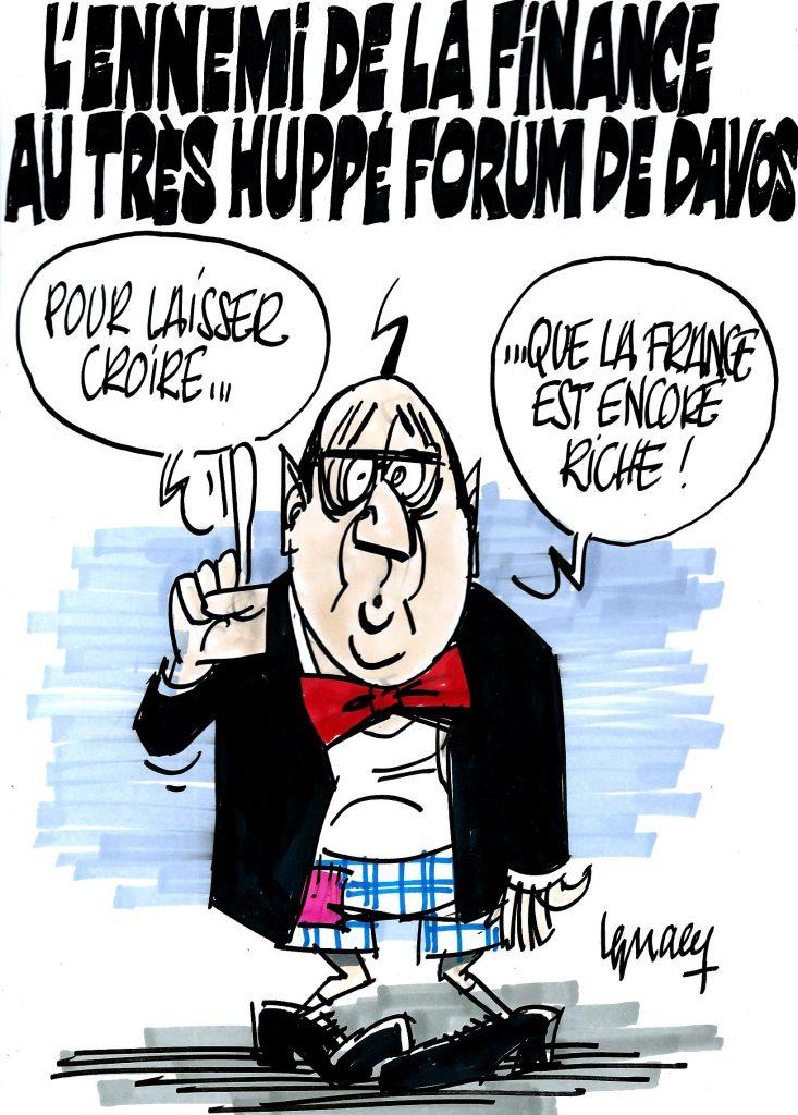 Ignace - Hollande à Davos