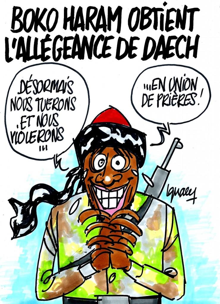 Ignace - Boko Haram obtient l'allégeance de Daech