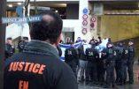 Ligue de Défense Juive et Betar contre partisans du boycott d'Israël se font face à l'université de Paris