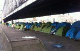 Les immigrés clandestins plantent leurs tentes en plein Paris !