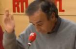 Zemmour au sujet de Macron : «Nous sommes tous des fainéants»