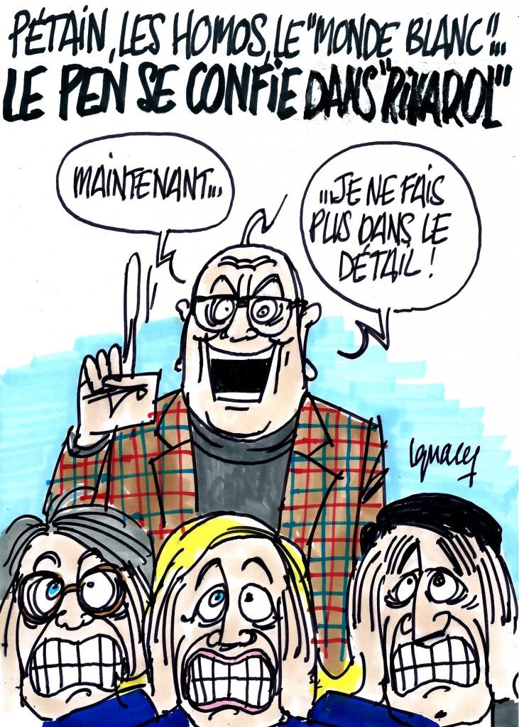 """Ignace - Le Pen se confie dans """"Rivarol"""""""