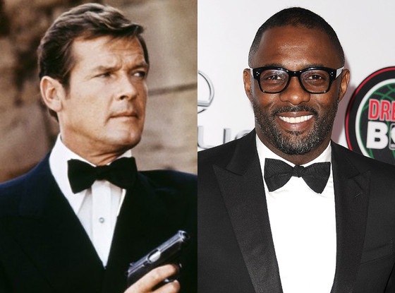 james-bond-Roger-Moore-Idris-Elba