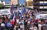 Non au largage de la Nouvelle-Calédonie! Droit de vote pour tous les Français! Les Calédoniens dans la rue. (Deux vidéos)
