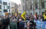 PEGIDA manifestait à Gand contre l'islamisation