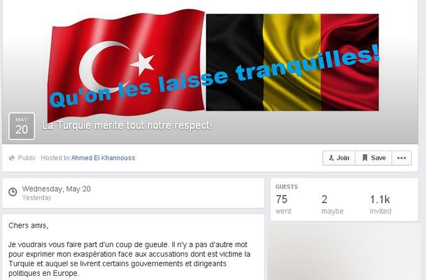 Une page Facebook du député Ahmed el-Khannous
