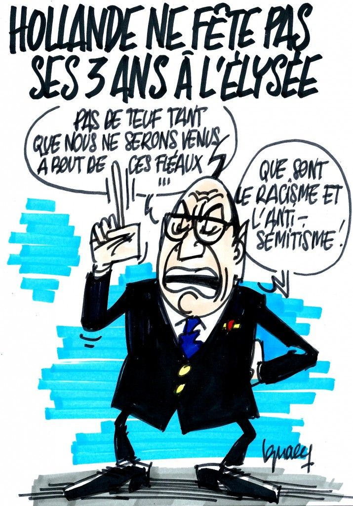 Ignace - Hollande ne fête pas ses trois ans à l'Elysée