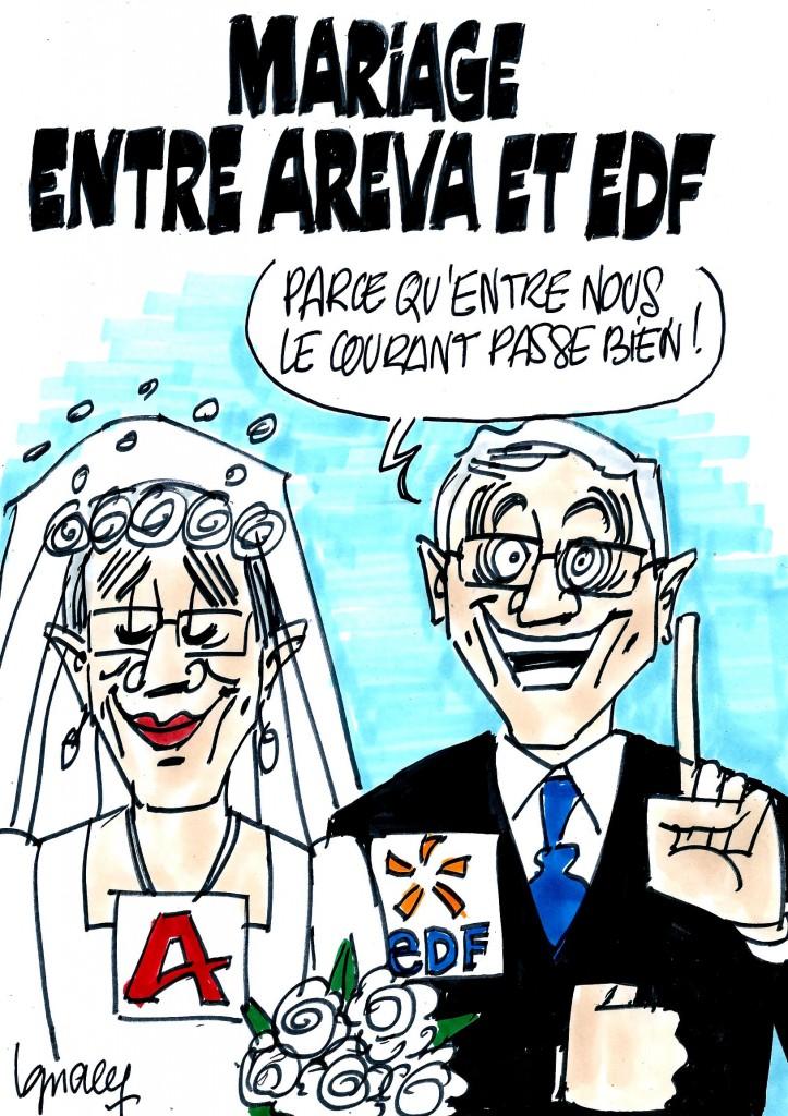 Ignace - Mariage entre Areva et EDF