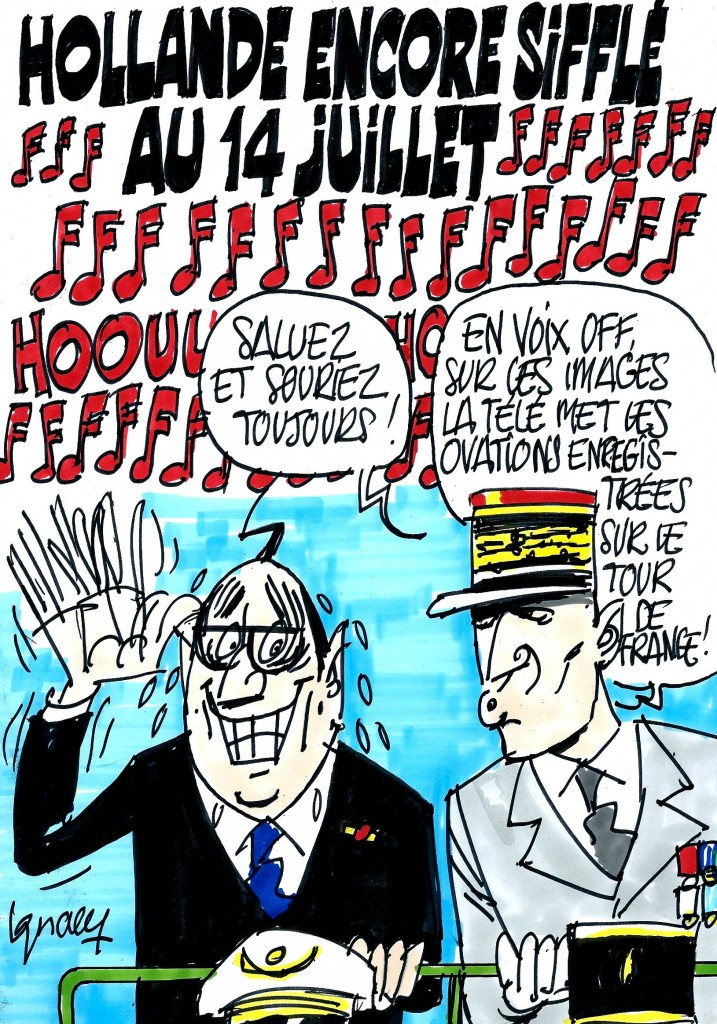 Ignace - Hollande aux Champs-Elysées