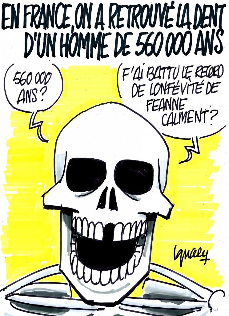 Ignace - Une dent de 560000 ans !