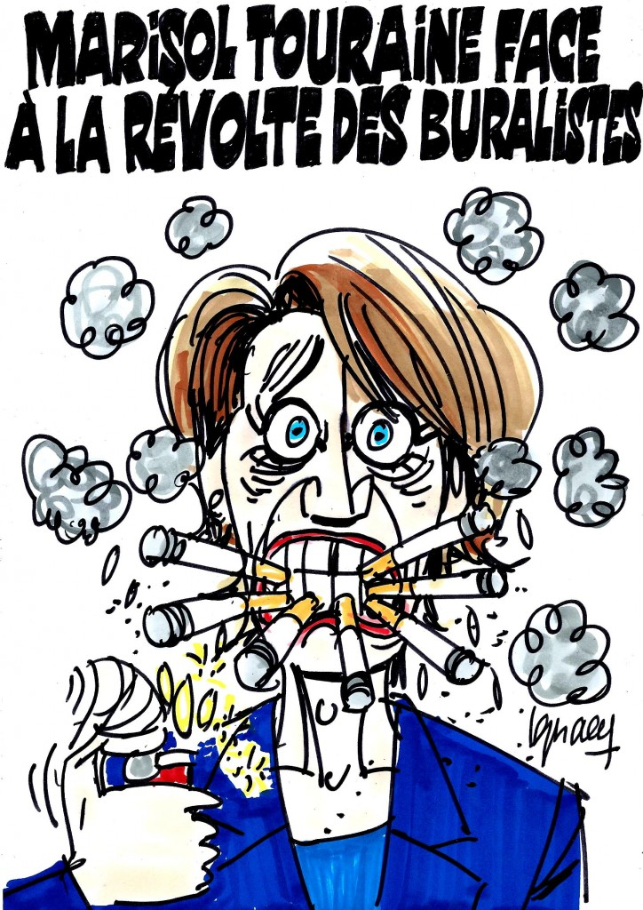 Ignace - Marisol Touraine face à la révolte des buralistes