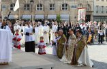 Discours de l'abbé de La Rocque lors de la procession du 15 août 2015 à Paris