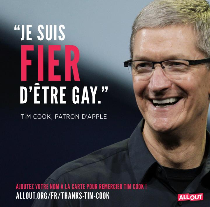 L'une des campagnes du lobby LGBT All Out...
